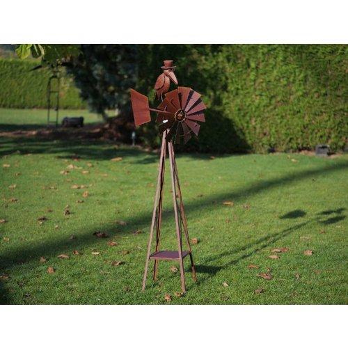 Eliassen Windmolen groot met kraai