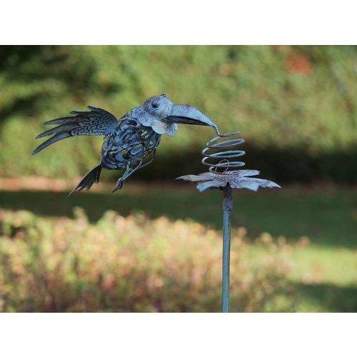 Eliassen Tuinsteker bewegend Vogel