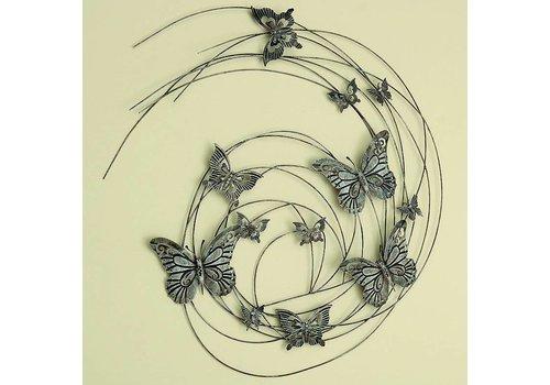 Muurdecoratie 3D Butterfly 98cm