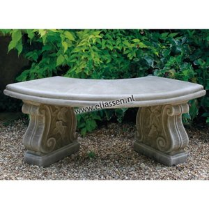 Dragonstone Tuinbank Small Curved Bench