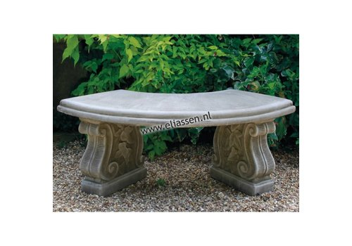 Tuinbank Small Curved Bench