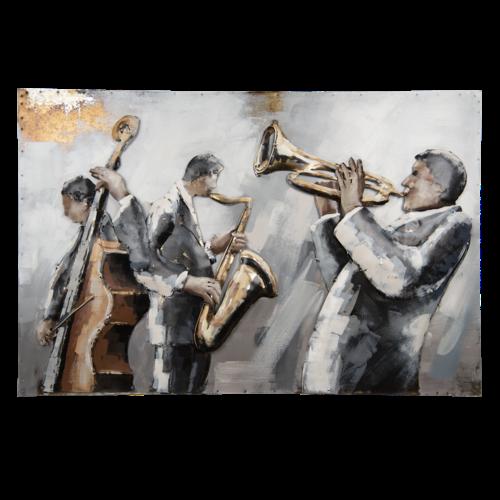 Eliassen 3D schilderij 90x60cm Orkest