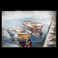 3D schilderij  120x80cm  Boten