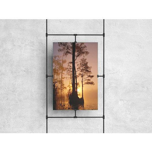 Wandkraft Glasschilderij  Moeras 148x98cm