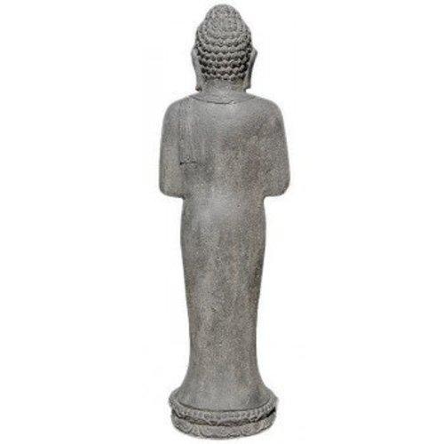 Eliassen Boeddha beeld staand groetend in 5 maten