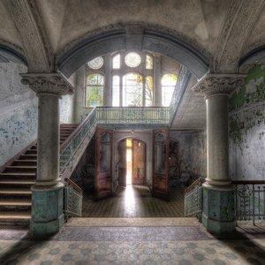 Eliassen Glas schilderij 100x100cm Licht inval