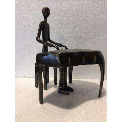 Bronzen pianist 1