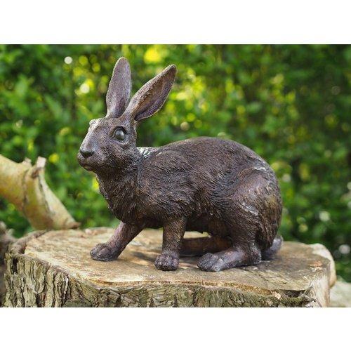 Bronzen konijn