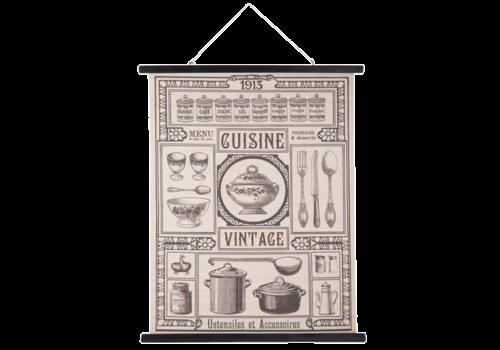 Wandkaart Keuken 80x100cm
