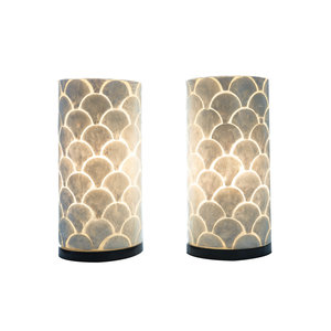 Tafellamp set 30cm Kipas