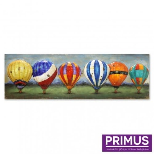 Primus 3d schilderij 56x180cm balonnen