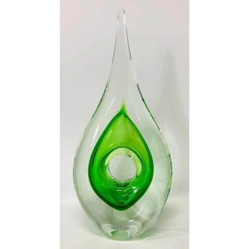 Glas sculptuur Straight