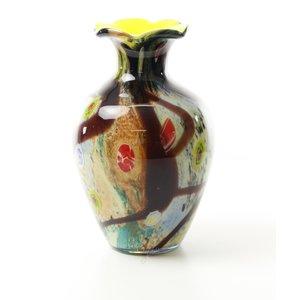 Glazen vaas muranostijl