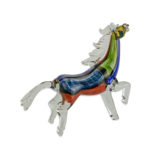 Glazen beeld muranostijl paard