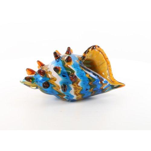 Glazen beeld muranostijl schelp