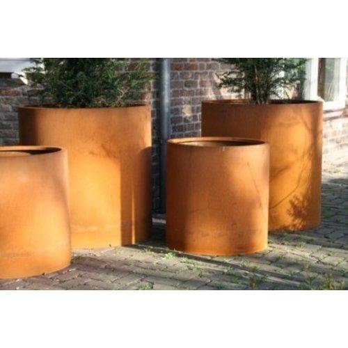 Adezz Producten Cylinderpot Atlas Adezz cortenstaal