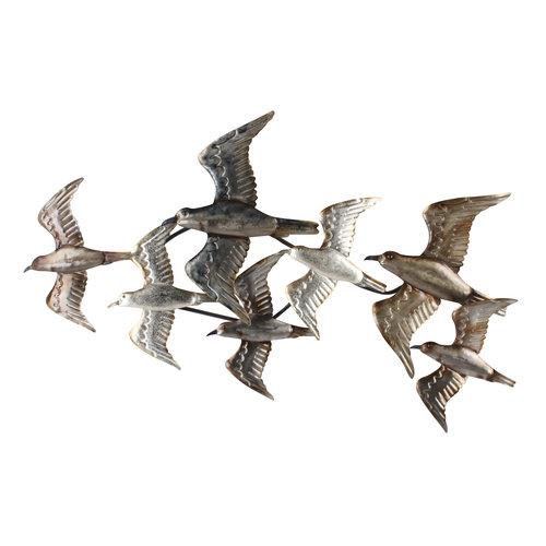 Muurdeco 3d  7 Vogels
