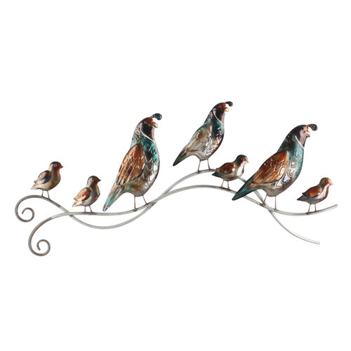 3D  wandedecoratie Vogels met Jongen