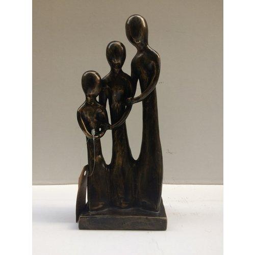 Bronzen familie 3