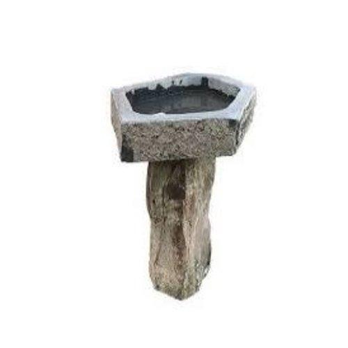 Vogeldrinkschaal  basalt IJsvogel