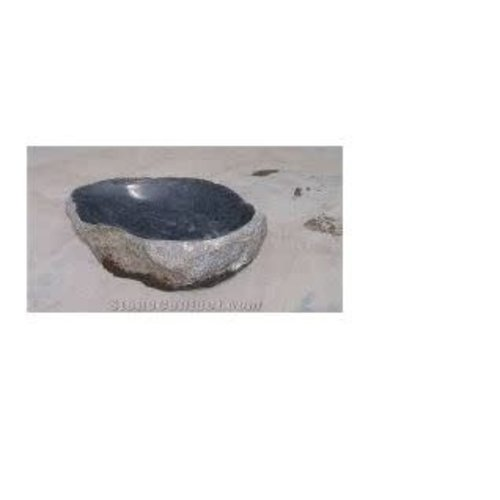 Vogeldrinkschaal basalt Specht