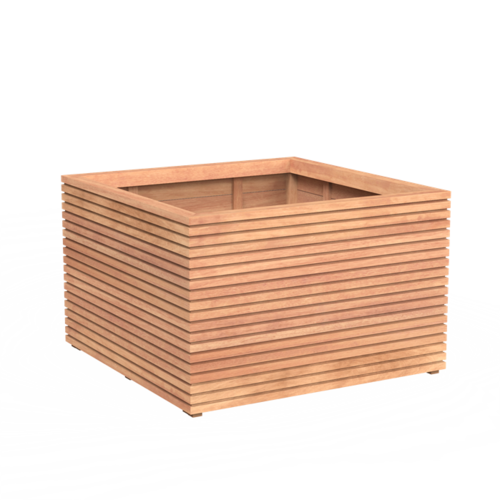 Plantenbak hardhout Rhombus Adezz in vele maten