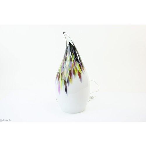 Glaslamp 'Casper' murrina 55cm