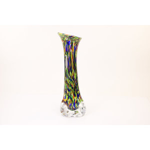Vaas glas Colorato 30cm