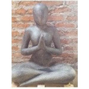 Eliassen Yoga beeld groetend 80cm