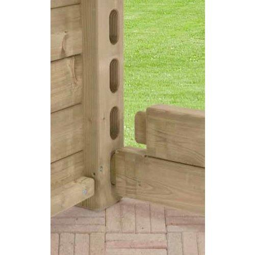 Talen Staphorst Bloembak Talen hout 4010