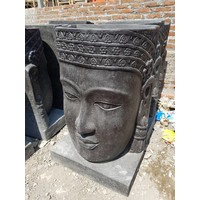 Waterornament Face Boeddha in 4 maten