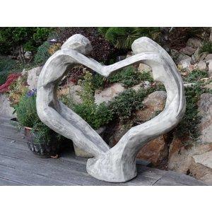 Eliassen Tuinbeeld Tristan en Isolde  in hartvorm