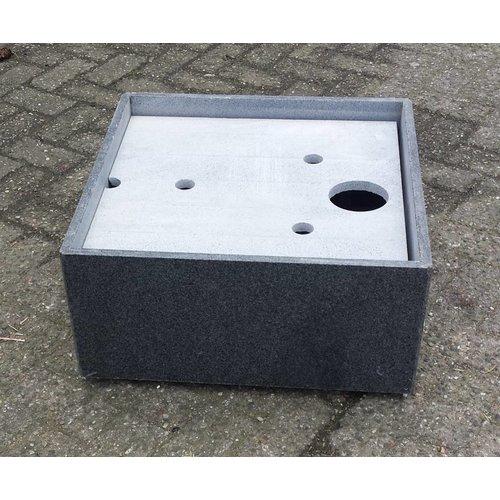 Waterbak graniet 55x55x35cm