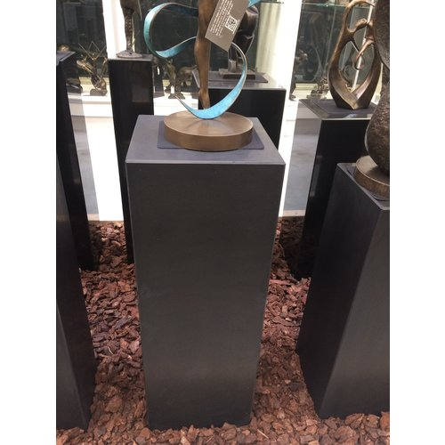 Eliassen Sokkel  zwart graniet mat 30x30x85cm