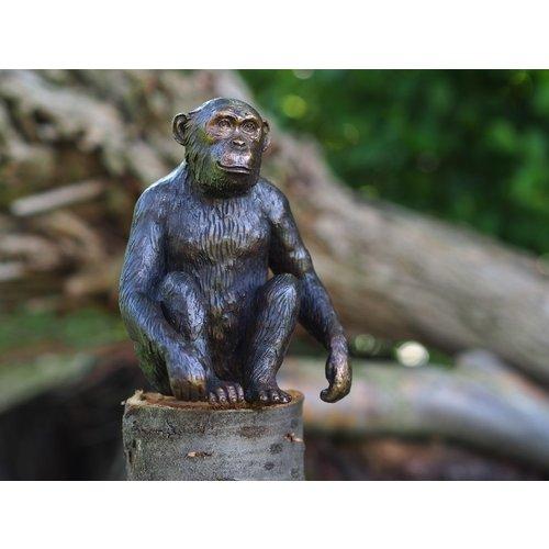 Eliassen Beeld brons aap Chimpansee