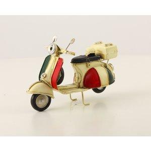 Miniatuurmodel blik Scooter Italian