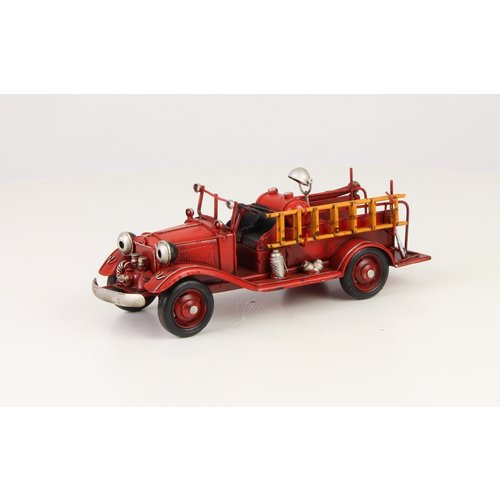 Miniatuurmodel blik Brandweer oud