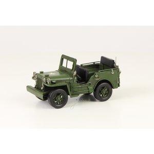 Eliassen Miniatuurmodel blik Jeep klein
