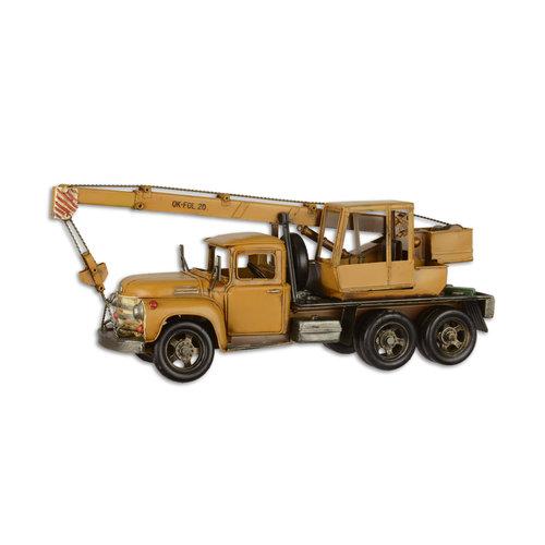 Eliassen Miniatuurmodel blik Kraanwagen groot