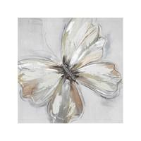 Canvas schilderij 60 x 60cm Vlinder