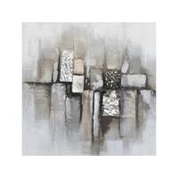 Canvas schilderij 80 x 80 cm Blokken