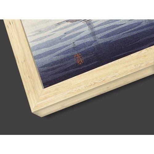 Glasschilderij Wolf 17x118cm