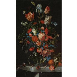 Glasschilderij Boeket Jan Davidsz 1650-1683