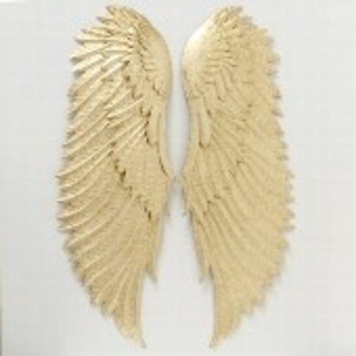 Engelenvleugels goud 50cm