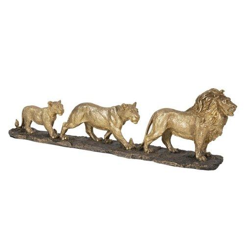 Decoratie Leeuwenfamilie