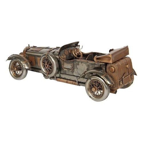 Model auto Zilver