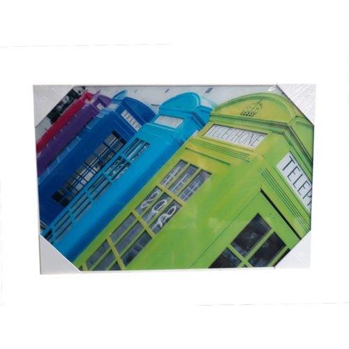 Glasschilderij Cels 60x90cm