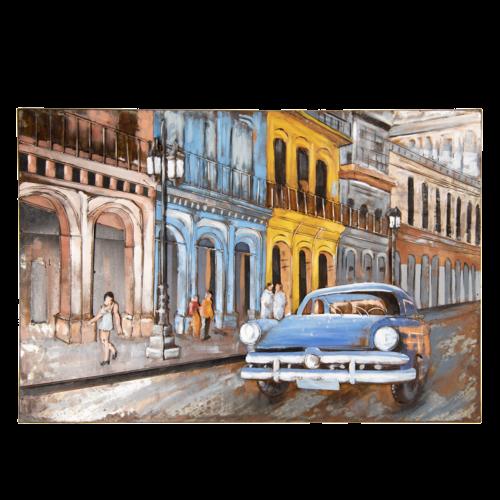 3d schilderij auto