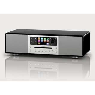 Sonoro Meisterstück V2 audiosysteem zwart hoogglans