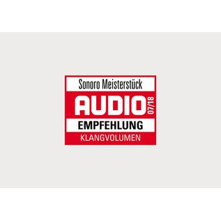 Sonoro Meisterstück audiosysteem wit hoogglans